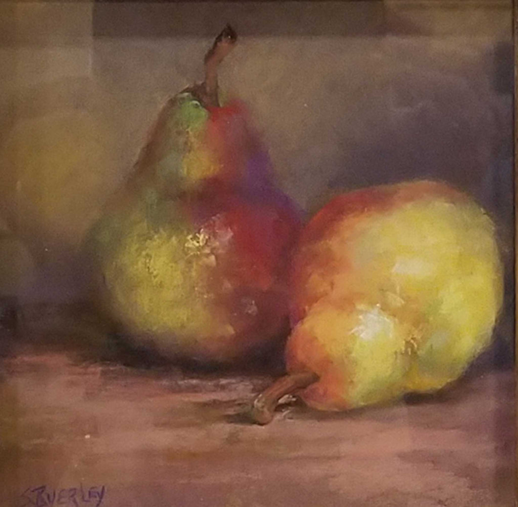 Title: A Pair of Pairs Artist: Susie Byerley Medium: Pastel Size: framed