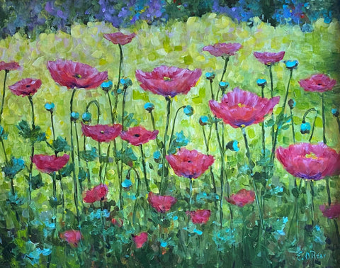 """A Passion for Poppies"" by Elizabeth O'Rear 