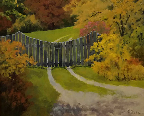 Title: Autumn Color Artist: Norene Mara Medium: Oil  Size: Framed