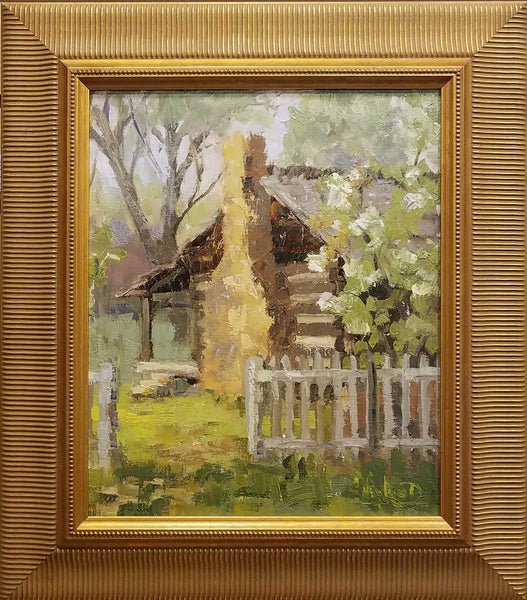 Painting: Blossoms Artist: Chris Newlund Medium: Oil on Linen Size: framed