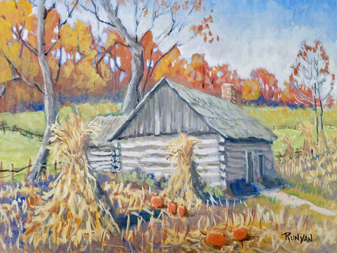 """A Brown County Harvest"" by Douglas Runyan 