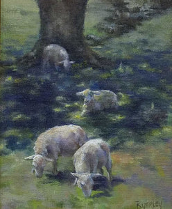 Title: Cool Respite Artist: Susie Byerley Medium: Oil  Size: Framed