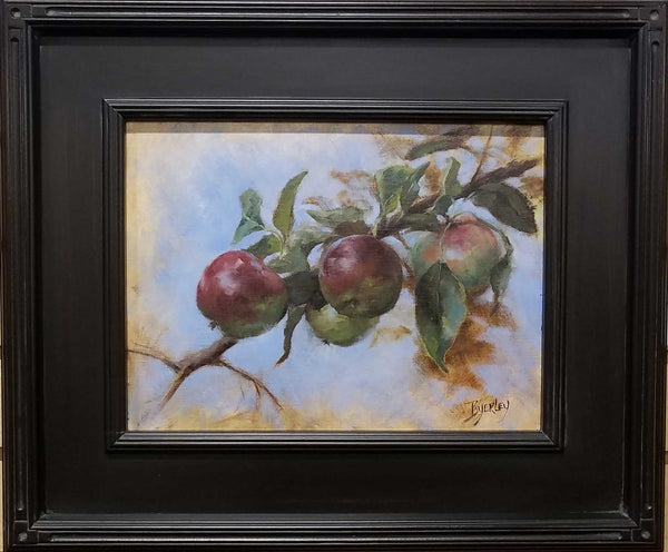 Title: Ohio Applies Artist: Susie Byerley Medium: Oil  Size: framed