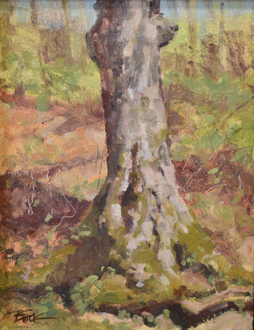 "Title: Spring Afternoon Warmth Artist: Eric Brock Medium: Oil  Size: 13"" x 10"", framed"