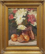 "Load image into Gallery viewer, Painting: Still Life with Copper Artist: Robert Eberle Medium: Oil   Size: 16"" x 12"", framed 23"" x 19"""