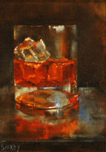 "Load image into Gallery viewer, Title: On The Rocks Artist: Susie Byerley Medium: Oil  Size: 5"" x 7"", framed"