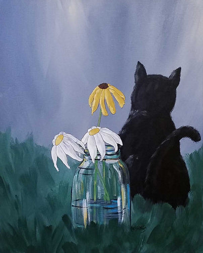 Painting: The Gift Artist: Amanda W. Mathis Medium: Acrylic Size:  Framed