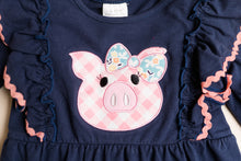 Load image into Gallery viewer, Pig Baby Romper