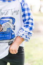 Load image into Gallery viewer, Blue Tailgate Raglan