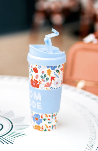 Mom Mode Travel Coffee Mug