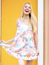 Load image into Gallery viewer, Citrus Floral Summer Dress