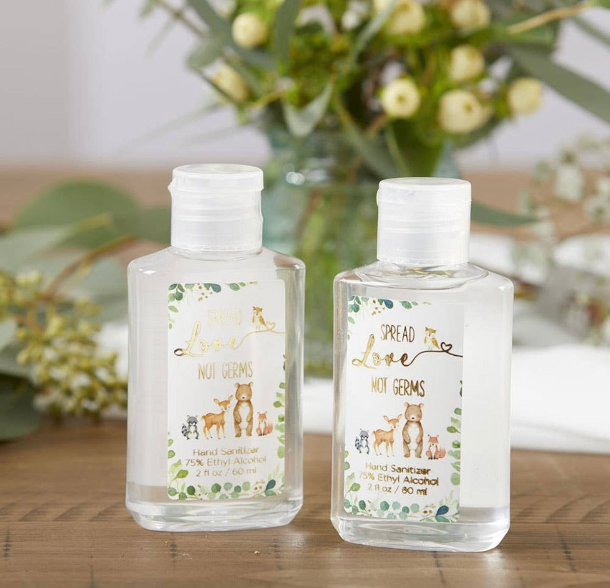 2 oz hand sanitizer woodland
