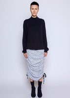Ivy Skirt - Splash Dot - White