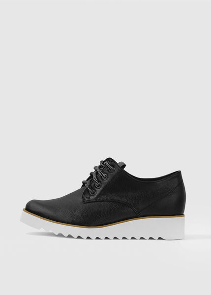 OXFORD STREET - Black vegan apple leather