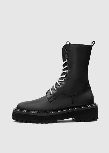 COMBAT Men's Worker Boots - Desserto® vegan cactus leather