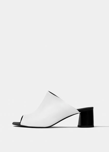 UPTOWN Sandals - White - Desserto® vegan cactus leather