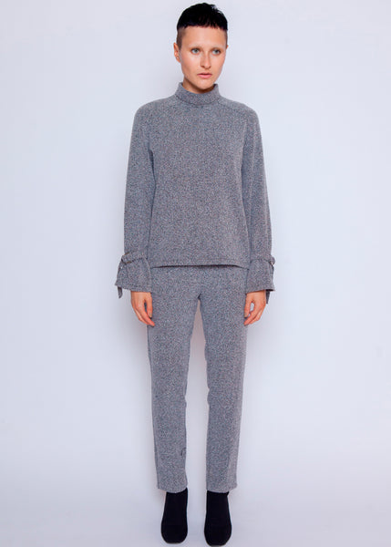 Wool Less Tiffany Sweater  - Heather Grey