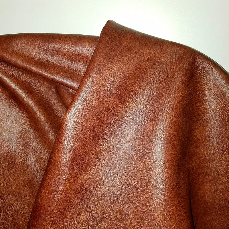 Leathers Brown Tan Cognac 22 to 24 Square Feet