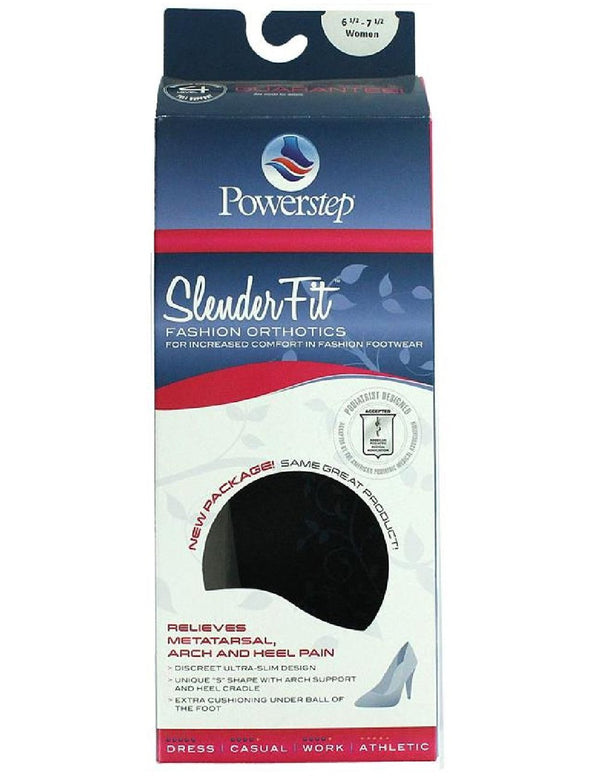 Powerstep (#PSSF) Slender Fit Fashion Orthotics - One Pair