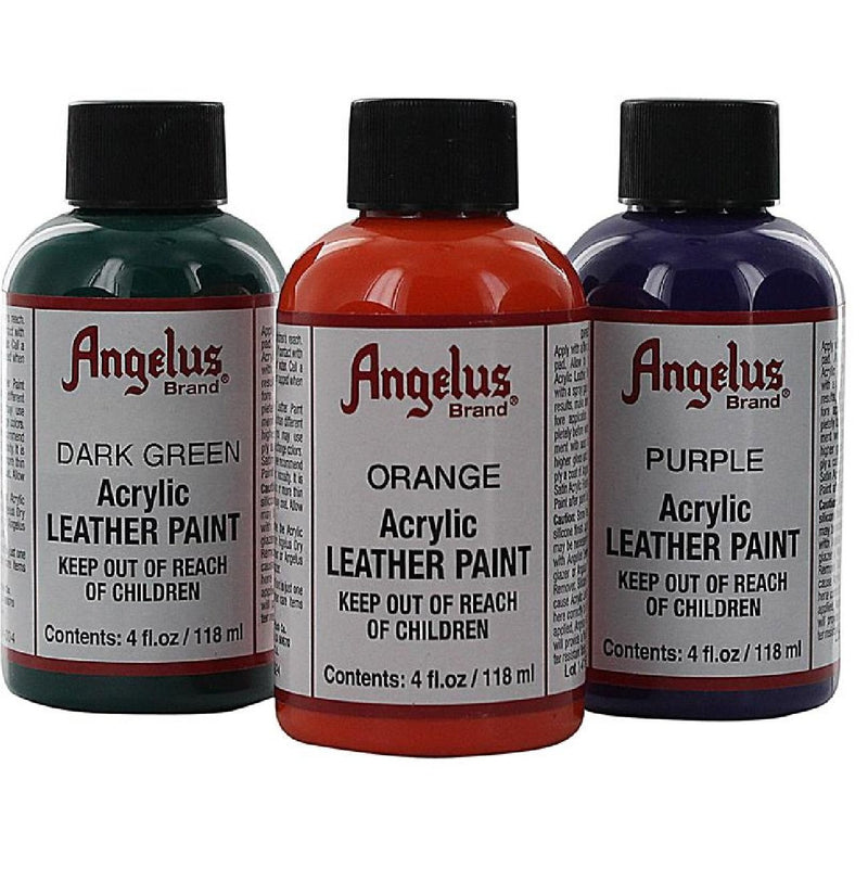 Angelus Acrylic (#ANAP1) Paints 4 Oz