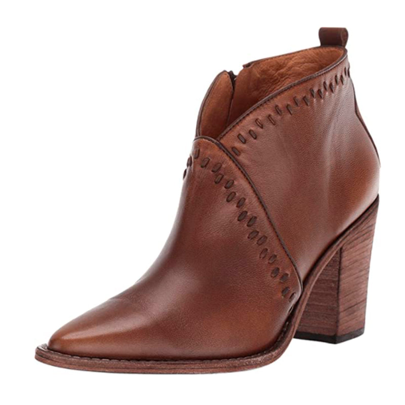 Lucchese Women's Anita Fashion Booties Pointed Toe