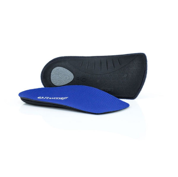 Powerstep (#PS34) 3/4 Insole (Slimtech) - One Pair