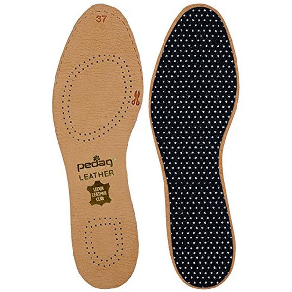Pedag | Leather Naturally Tanned Sheepskin Insole with Activated Carbon | Color Tan | Women's