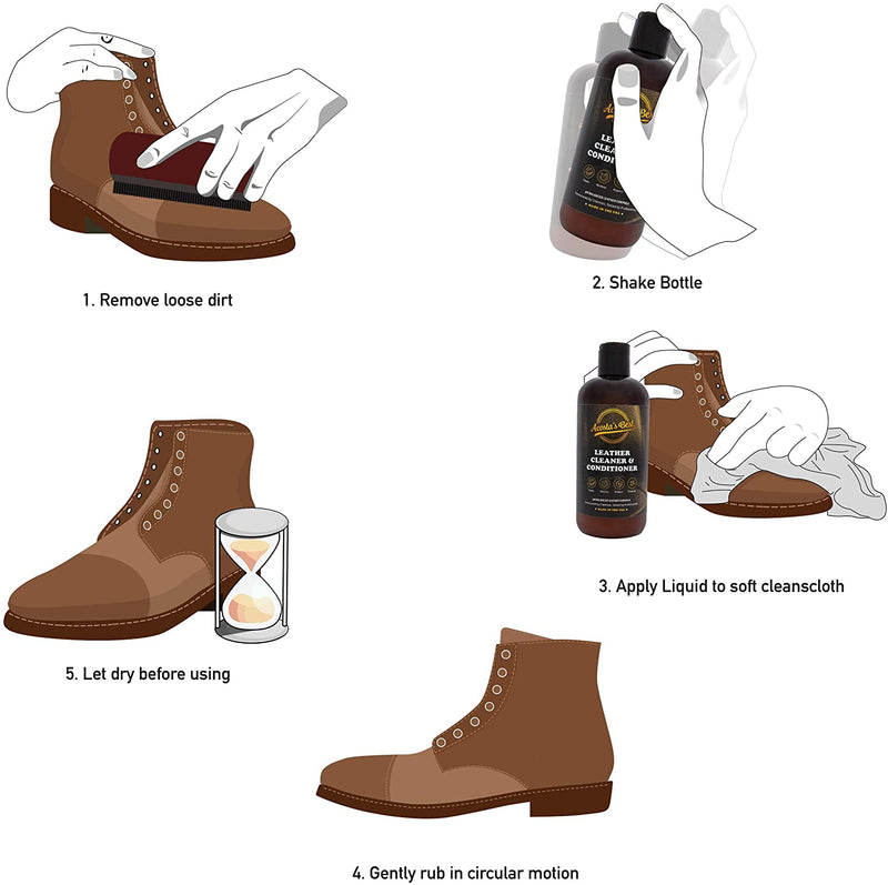 Acosta's Best | Leather Cleaner and Conditioner