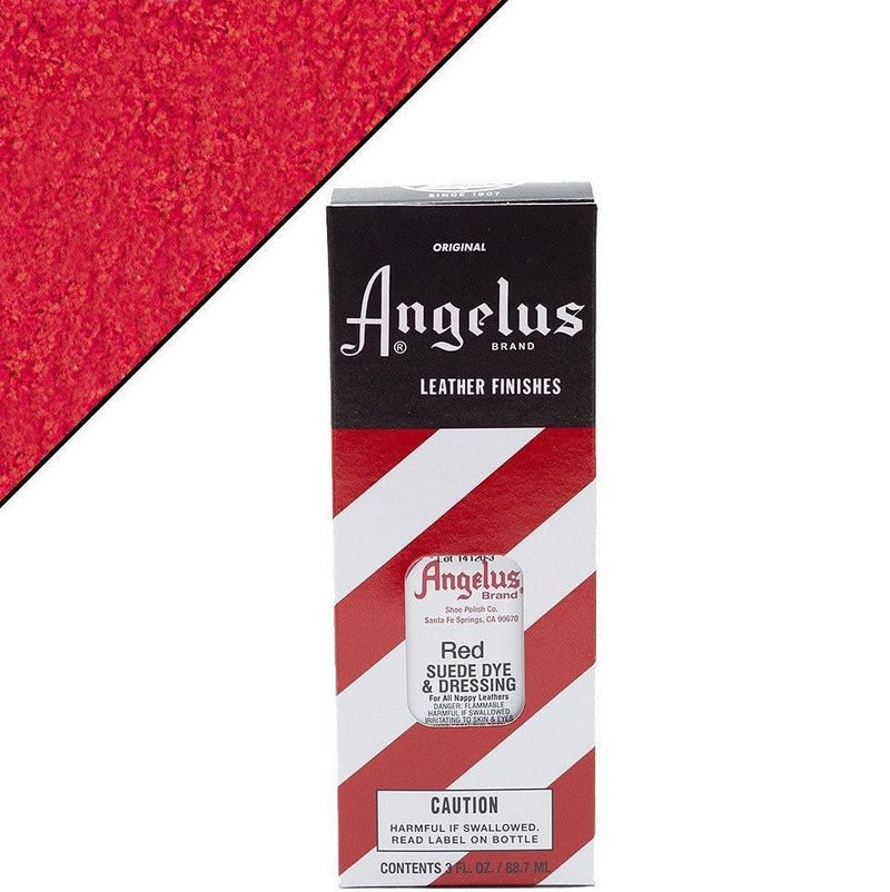 Angelus Suede Dye Red