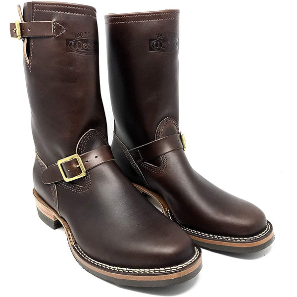 Wesco Boots   Men´s  Mister  Lou  7600BR (Color Brown ) Brown Horsehide Leather