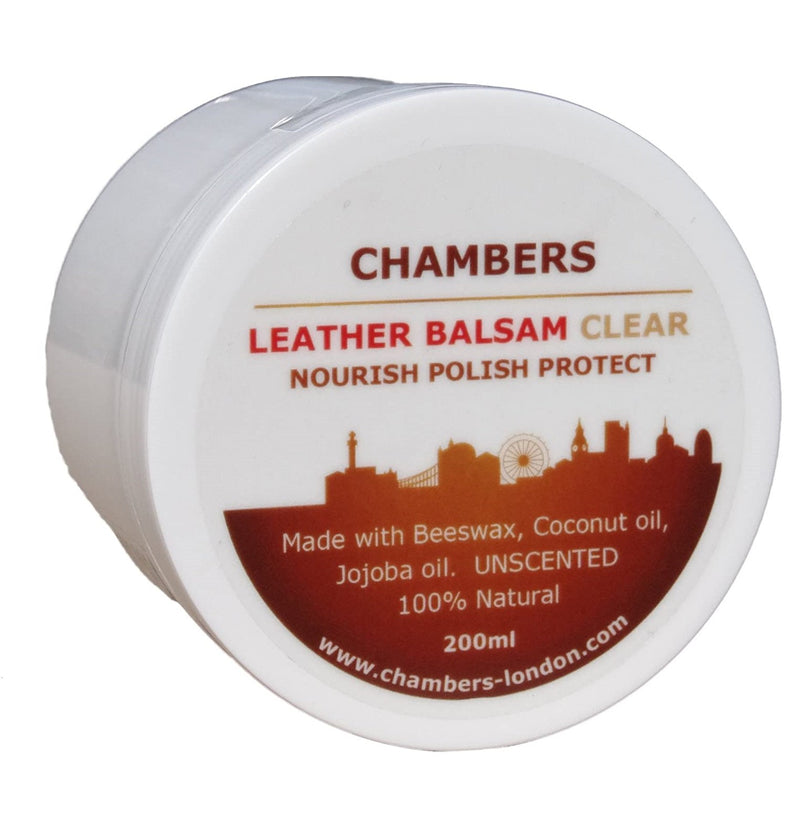 Chambers London Leather Care | Natural Leather Balsam Conditioner
