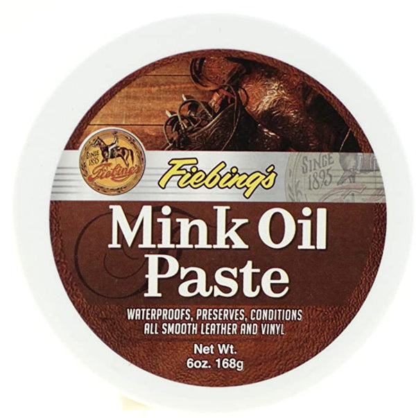 Fiebings | Mink Oil Paste For Smooth Leather And Vinyl Condition And Protect