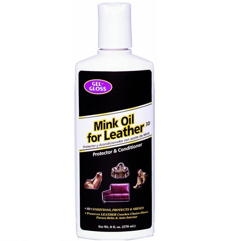 Gel-Gloss |  Mink Oil Leather Conditioner and Protector