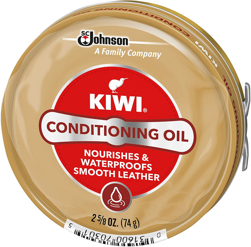 KIWI Shoe Conditioning Oil | Leather Care for Shoes