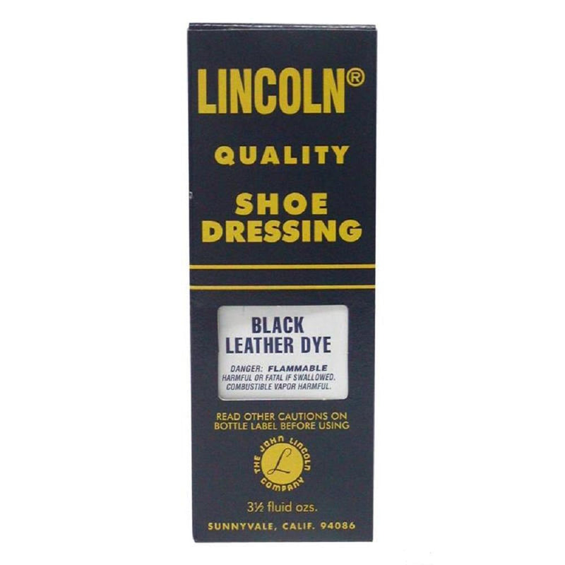 Lincoln Leather Dye All Color 3 1/2 Oz #LIDYE