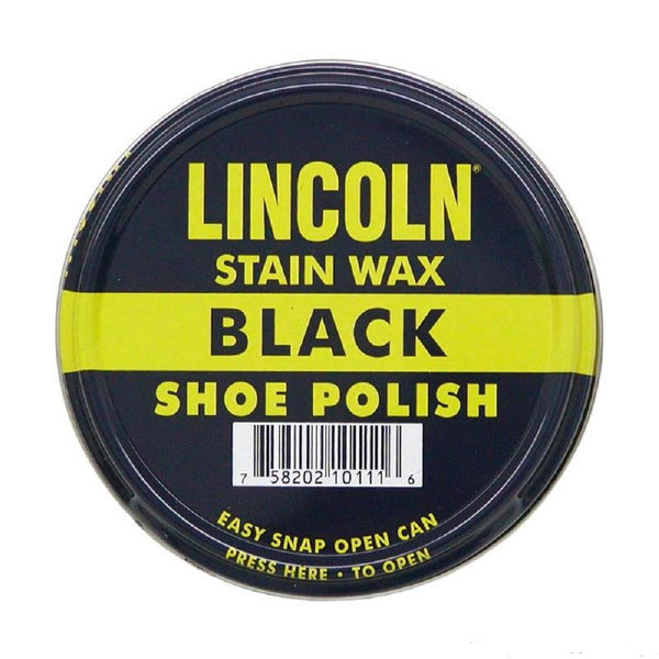Lincoln Stain Wax Shoe Polish 2 1/8 All Color # LIWAX