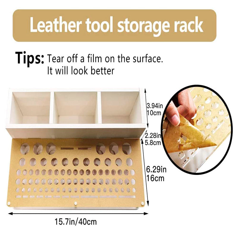 Leather Working Tools Kit, 26 Pcs Leather Stamping Tools,