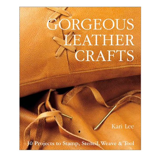 Gorgeous Leather Crafts: 30 Projects to Stamp, Stencil, Weave & Tool Hardcover – October 1, 2002