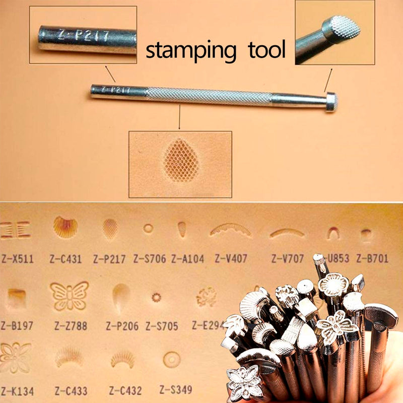 Leathercraft Hand Tools Kit with Instructions
