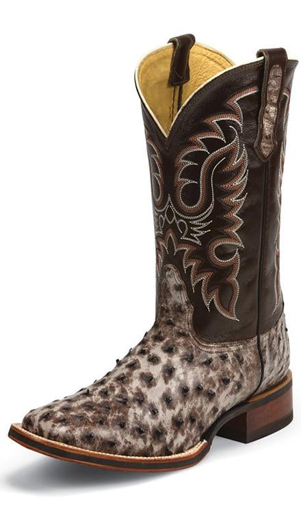 Nocona Boots Mccloud Tobacco Full Quill (MD6515)