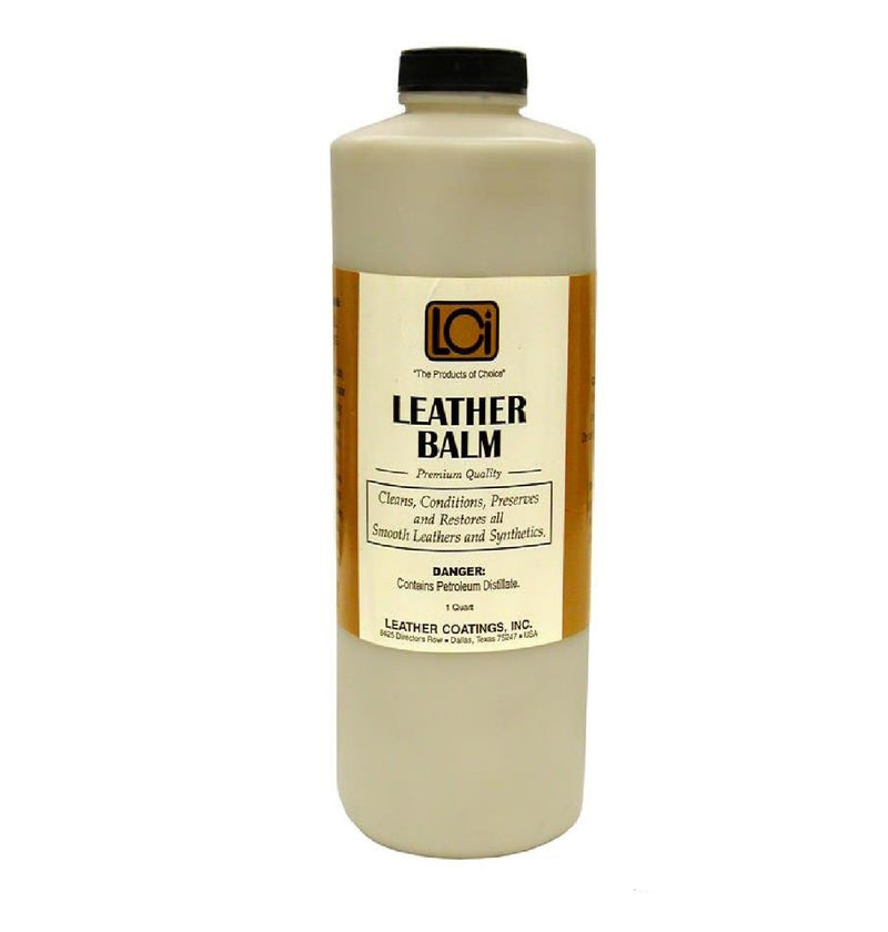 LCI Leather Balm 1 (Quart) - #LCIQTLBA