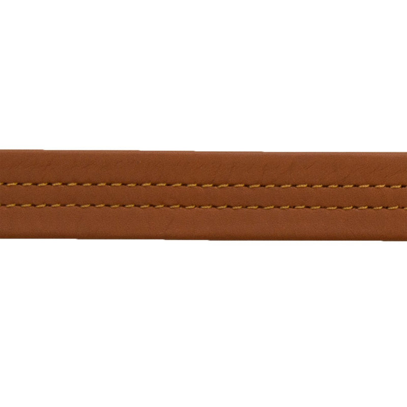 Mid-Stitch Purse Strap 1#630 Saddle Tan Double - Fold (#27594)-1 YD