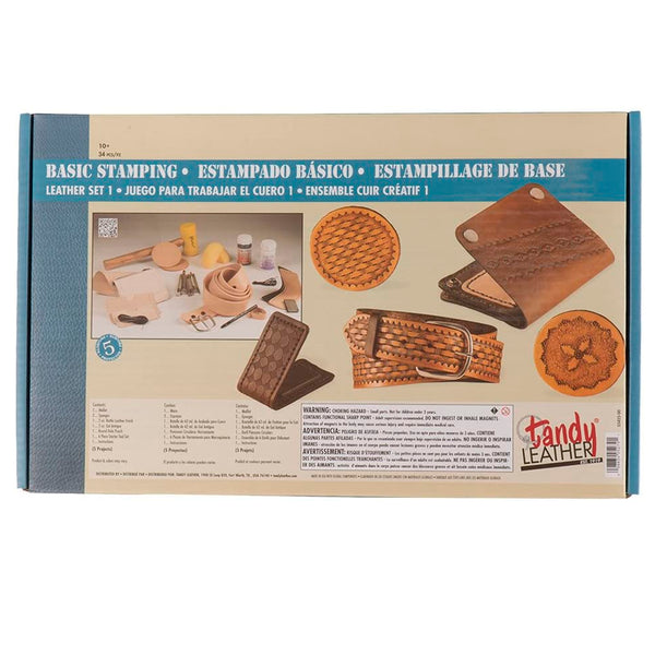 Tandy Leather Basic Stamping Leathercraft Set 1