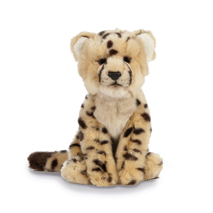 Living Nature Cheetah Cub Soft Toy, 15cm