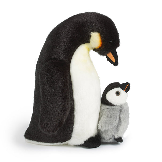 Living Nature Penguin with Chick Soft Toy, 25cm