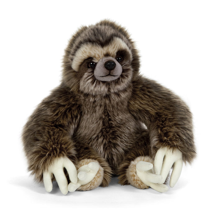 Living Nature Sloth Soft Toy, 20cm