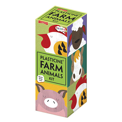 Plasticine Farm Animal Modelling Kit