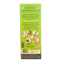 Load image into Gallery viewer, Plasticine Farm Animal Modelling Kit