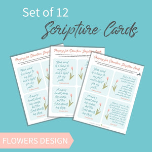 Praying for Direction Scripture Cards