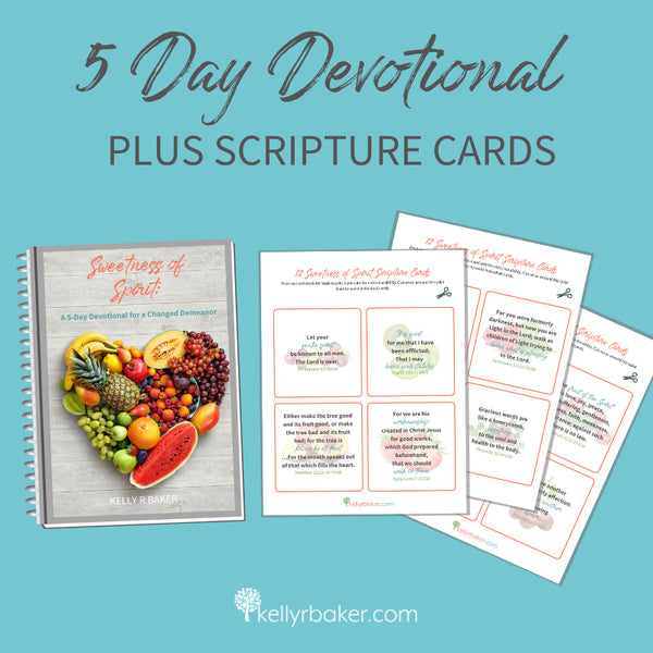 Sweetness of Spirit 5-Day Devotional + Scripture Cards